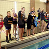 2-8-14   ---<br /> girls sectional swimming<br /> Cheering on Northwestern and Western teams.<br /> -- <br />   KT photo | Tim Bath