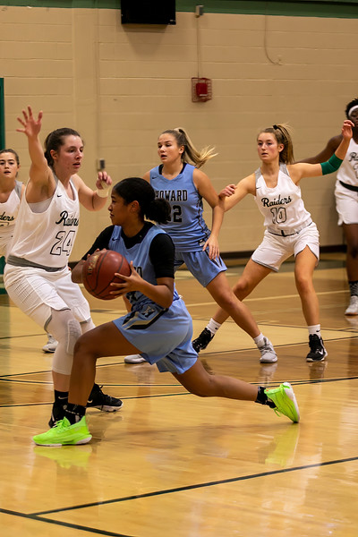Girls Varsity Basketball - Howard High School Vs. Atholton High School on 12/6/2019