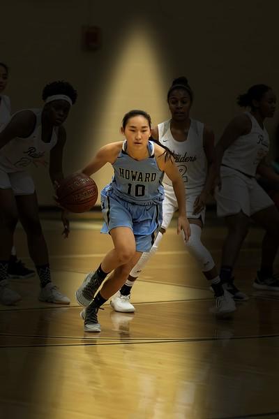 Girls Varsity Basketball - Howard High School Vs. Atholton High School on 12/6/2019