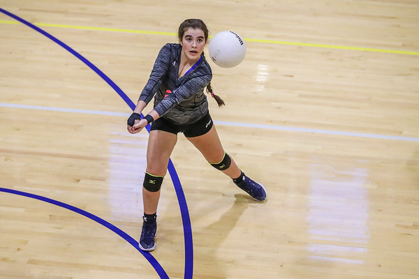 Ransom Everglades Girls' Volleyball.  District Final 2017