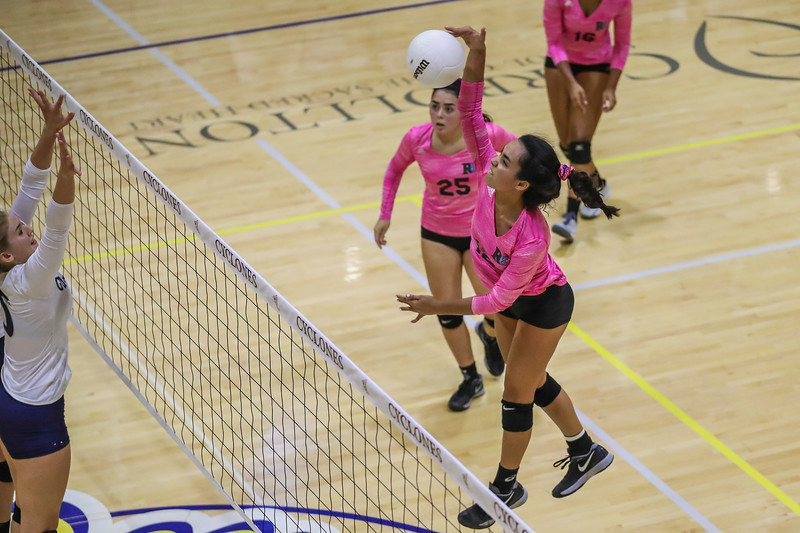Ransom Everglades Girls' Volleyball.  District Final 2017