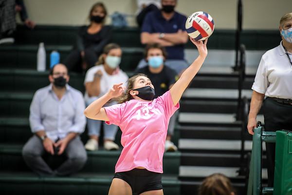 Ransom Everglades vs. Florida Christian Volleyball District Semi Finals. October 13, 2020