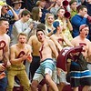 Record-Eagle/Brett A. Sommers The Charlevoix student section was in full force during Thursday's regional championship game between Glen Lake and the Rayders. Glen Lake won 56-44.
