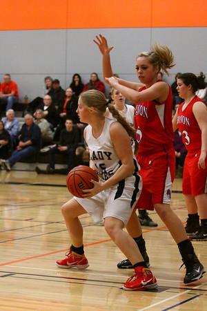 Lady Foxes Basketball vs Leb HS