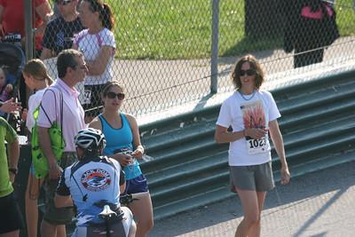 Jackie's Dad, Jackie, Cat - 5K run 5/12