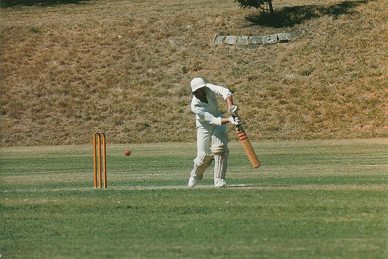 Glen Iris batting<br /> 1st XI Semi-Final<br /> Eric Raven Reserve