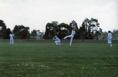 1983/1984 First  XI v Marcellin Feb 1984
