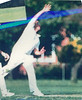 John Foley bowling<br /> First XI  Grand Final v <br /> B Turf 1992/93