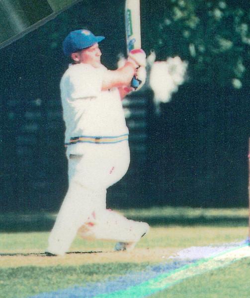 Damien Loorham<br /> First XI  Grand Final v <br /> B Turf 1992/93