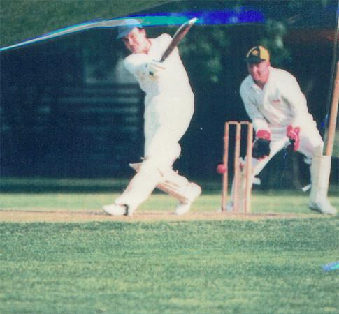 Allan Way<br /> First XI  Grand Final v <br /> B Turf 1992/93