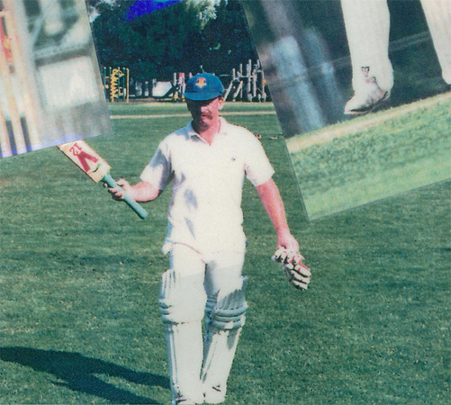 Gary Parker out<br /> First XI  Grand Final v <br /> B Turf 1992/93