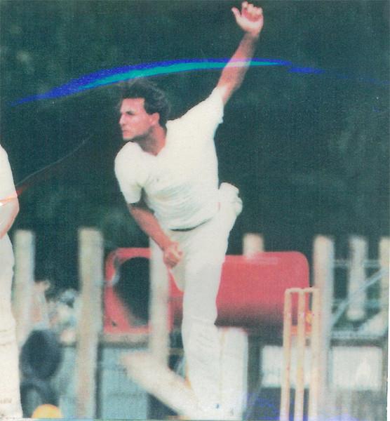 Rod McLennan<br /> First XI  Grand Final v <br /> B Turf 1992/93