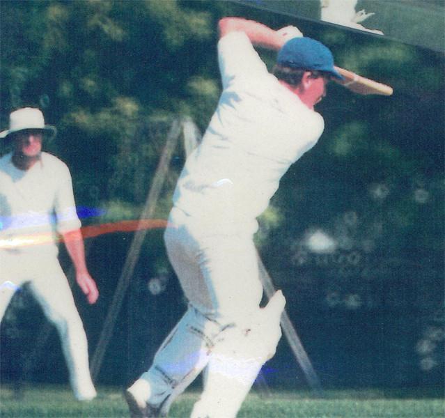 Gary Parker drives<br /> First XI  Grand Final v <br /> B Turf 1992/93