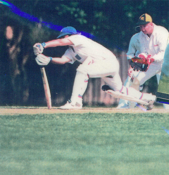 Patrick Doquile<br /> First XI  Grand Final v <br /> B Turf 1992/93