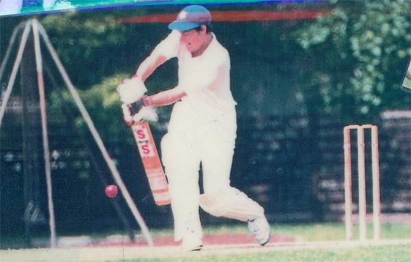 Marcus Leonard <br /> First XI  Grand Final v <br /> B Turf 1992/93