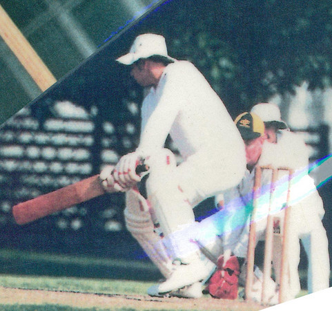 Michael Harvey<br /> First XI  Grand Final v <br /> B Turf 1992/93
