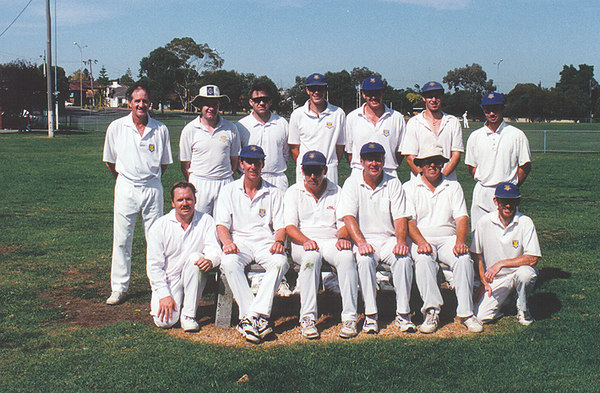 3rd XI Premiership Team<br /> A Synthetic (E.S.C.A) 1995/96<br /> Back: David Massey,  Chris Dunne,  Warren Spence,  Jay Potter,  Marc Lawrence,  Michael Kratofil,  Jay Rooney<br /> Front: Kevin Barker,  Paul Stewart,  Paul Lourey (Capt),  Wayne Harvey,  John Foley,  Phil O'Rourke