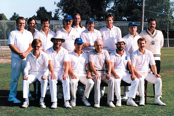 2nd XI Runners Up<br /> E Turf (E.S.C.A) 1987/88<br /> Back: John Foley,  David Massey (12th man),  Ron Hannon,  Chris Hughes,  Bill Glover, Allan Way,  David Turnbull,  Paul Jolley,  Roger Young (Coach)<br /> Front: Phil O'Rourke,  Wayne Harvey,  Ian Lee (Capt), Geoff Knight (Chairman of Selectors),  Neil Rooney (V.Capt),  Ric Ford