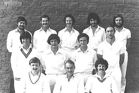 2nd XI Premiership Team <br /> C Turf (E.S.C.A) 1977/78<br /> Back: Chris Armstrong,  Doug Robinson,  Wayne Armstrong,  Joe Harland,  Paul Scannell<br /> Middle: Ray Steyger (12th man),  Ian Lee,  Tom Fitzgerald,  Mark Fowler<br /> Front: Ric Ford,  Barry Plant (Capt),  Ron Hannon (V.Capt)
