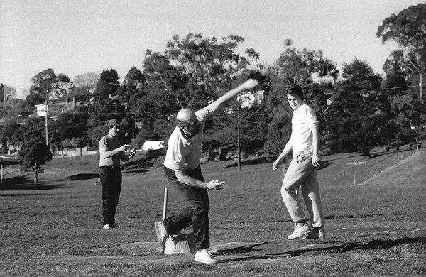 Dick Chapple, Wayne Harvey & Marcus Leonard