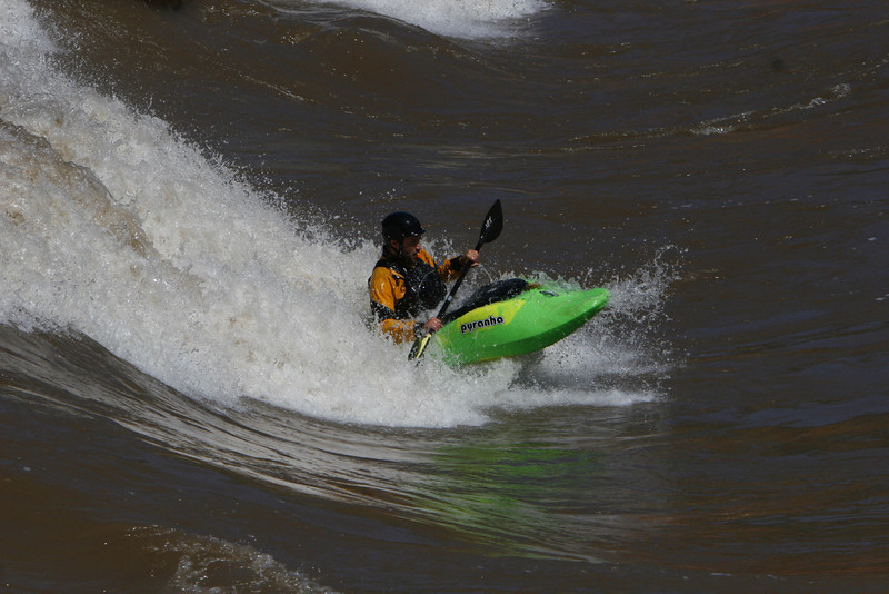 Craig Klunker at Glenwood Springs water park on Colorado River 2010