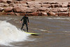 wave surfer at glenwood springs whitewater park