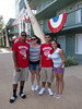 The traveling fan base....!!!