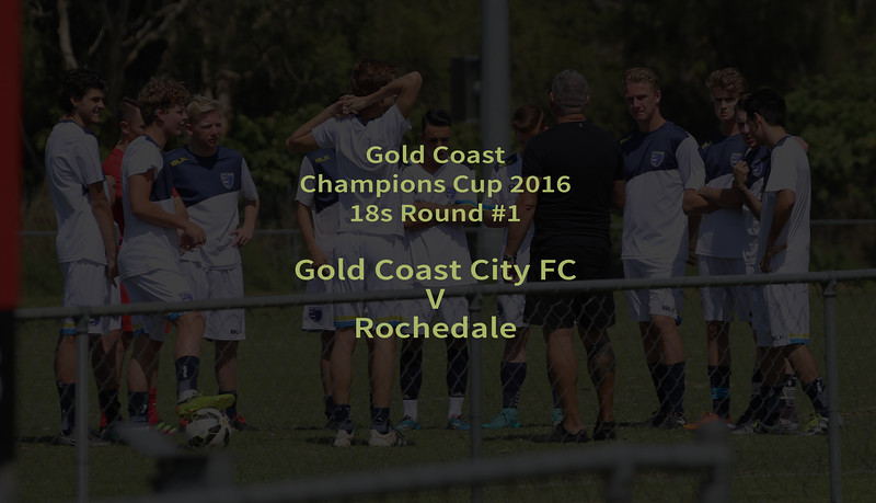 Gold Coast Champions Cup 18s 2016
