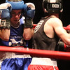 Golden Gloves boxing - week 3. Shane Jordon of Everybody Fights (Red corner), right, won by unanimous decision over Michael Correa of Manchester PAL (Blue) in 132 lb Novice semifinal. (SUN/Julia Malakie)