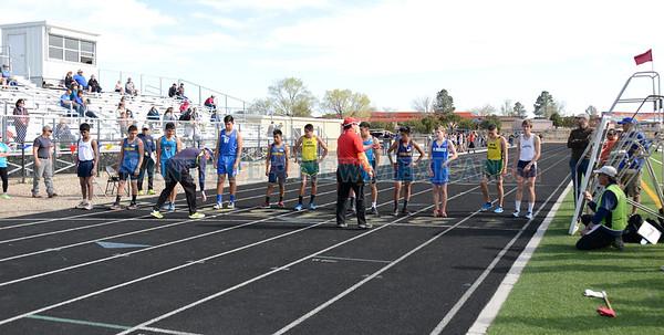 Golden Spikes Relay track meet April 7, 2015