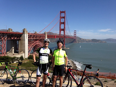 Golden Gate Century ride, June 2013
