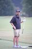 PGA Tour golfer Cliff Kresge hits in MondayÕs inaugural KresgeÕs Krew Foundation Charity Pro-Am at Ridgefields Country Club. Photo by David Grace
