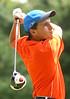 Volunteer golfer Bradley Martin. Photo by Erica Yoon