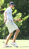 Tennessee High golfer Morgan Sindelar reacts to a putt shot he made. Photo by Erica Yoon