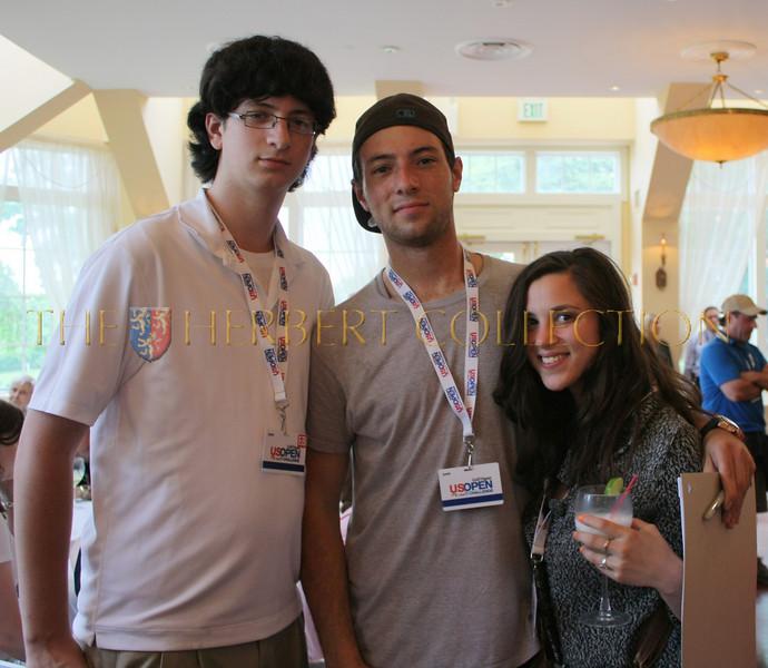 Jake and Ryan Klarberg with Rikki