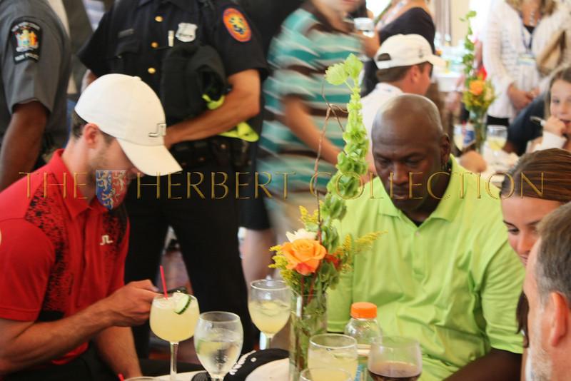 Justin Timberlake and Michael Jordan