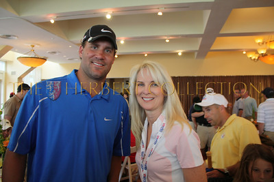 Ben Roethlisberger, champion Steeler quarterback with Sara Herbert-Galloway