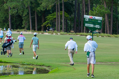 Round of 64 at the 119th U.S. Amateur played in Pinehurst, North Carolina.