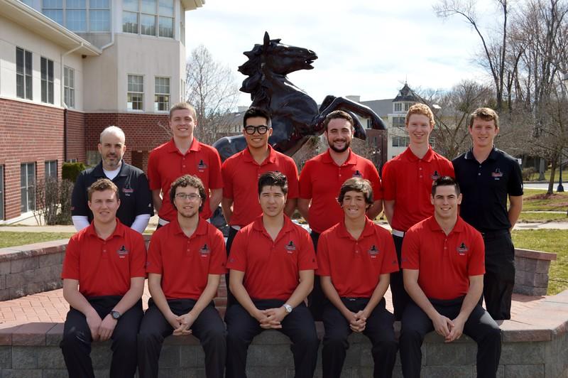 2015-16 Men's Golf Team