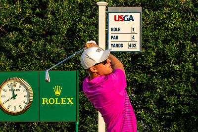 Round 2 of the 119th U.S. Amateur played in Pinehurst, North Carolina.