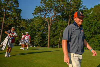 Semifinal Round of the 119th U.S. Amateur played in Pinehurst, North Carolina.