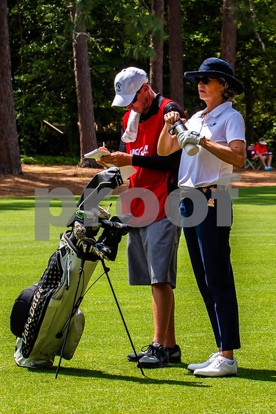 Second Round of the 2nd U.S. Senior Women's Open played at the Pine Needles Lodge and Golf Club, Southern Pines, North Carolina.