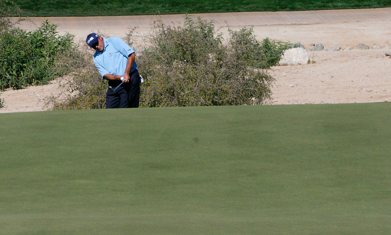 Angel Cabrera didn't make it to the weekend