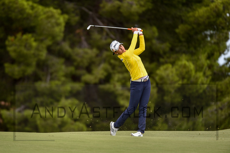 ADELAIDE, AUSTRALIA - FEBRUARY 19:<br /> <br /> Chella Choi from the Republic of Korea of on the 11th fairway during round four of the ISPS Handa Women's Australian Open at Royal Adelaide Golf Club on February 19, 2017 in Adelaide, Australia.