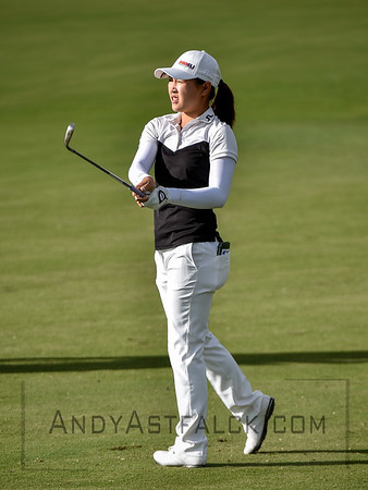 ADELAIDE, AUSTRALIA - FEBRUARY 16:  Kelly Tan of Malaysia on the 8th fairway during round one of the ISPS Handa Women's Australian Open at Royal Adelaide Golf Club on February 16, 2017 in Adelaide, Australia.