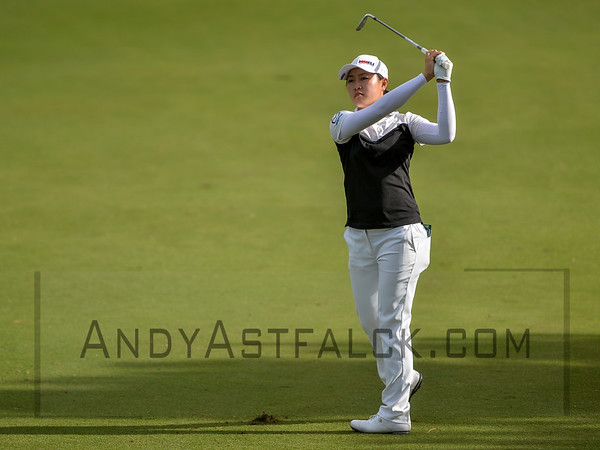 ADELAIDE, AUSTRALIA - FEBRUARY 16:  Kelly Tan of Malaysia on the 10th fairway during round one of the ISPS Handa Women's Australian Open at Royal Adelaide Golf Club on February 16, 2017 in Adelaide, Australia.