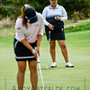 ADELAIDE, AUSTRALIA - FEBRUARY 19:<br /> <br /> Lizette Salas from the USA looks on while Su Oh of Australia putts on the 11th green during round four of the ISPS Handa Women's Australian Open at Royal Adelaide Golf Club on February 19, 2017 in Adelaide, Australia.