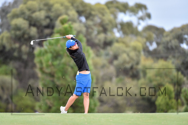 ADELAIDE, AUSTRALIA - FEBRUARY 16:   of during round one of the ISPS Handa Women's Australian Open at Royal Adelaide Golf Club on February 16, 2017 in Adelaide, Australia.