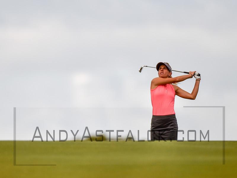 ADELAIDE, AUSTRALIA - FEBRUARY 16:  Emma De Groot of Australia on the 11th Fairway during round one of the ISPS Handa Women's Australian Open at Royal Adelaide Golf Club on February 16, 2017 in Adelaide, Australia.