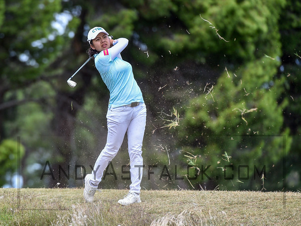 ADELAIDE, AUSTRALIA - FEBRUARY 19:  Wie-Ling HSU of Taipei during round four of the ISPS Handa Women's Australian Open at Royal Adelaide Golf Club on February 19, 2017 in Adelaide, Australia.
